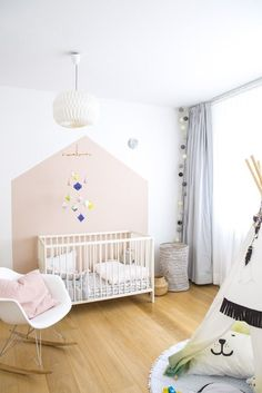 33 Perfect Toddler Girls Room Design Ideas With Painted Photo Frames - Designing and shopping for your baby girl nursery is fun. There are many ways to create a unique baby room. Here are some ideas to decorate a nursery . Baby Girl Room Decor, Baby Bedroom, Nursery Room, Kids Bedroom, Room Kids, Girl Nursery, Bedroom Ideas, Bedroom Decor, Playroom Shelves