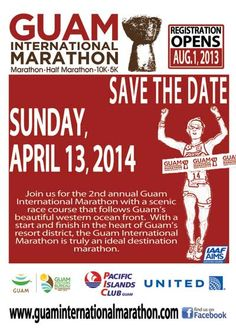 Guam International Save the Date Marathon