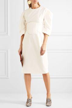 Stella McCartney | Paneled poplin dress | NET-A-PORTER.COM