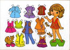 muñecas recortables, paper dolls, Бумажные куклы , bambole da carta, poupées en…