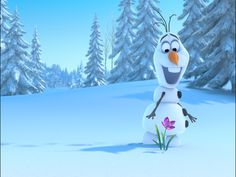 Teach about States of Matter with Olaf from Frozen!