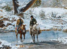 """Winter Crossing"" ~ Tim Cox"