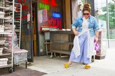 These Are the Most Stylish Plus-Size Outfits We've Ever Seen October Outfits, New Outfits, Cool Outfits, Stylish Plus Size Clothing, Plus Size Outfits, Curvy Fashion, Plus Size Fashion, Beth Ditto, Plus Size Beach