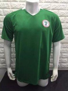 Nigeria National Team Home 2017 Green Soccer Jersey [I587]