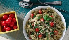 Lentil & Basil Pesto Pasta | Lentils For Every Season Volume 11 Garden to Table | Lentils.ca