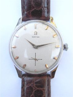 Exceptional Vintage Omega Mens Dress Watch by VillaCollezione on Etsy
