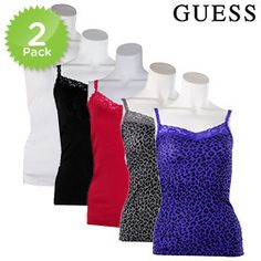 2 Pack: Women's Tank Tops by Guess