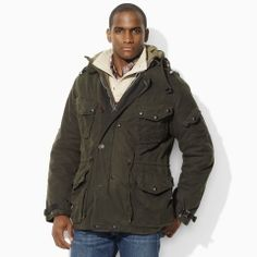 Ralph Lauren (POLO line) Creekside Oilcloth Jacket  Price: $695.00 | Sale: $414.99