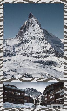 I don't quite understand the zebra stripes but I still like this. Zermatt, Yearly, Travel Memories, Wallis, Most Favorite, Zebras, Countries Of The World, Austria, Switzerland