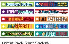 Parent Pack Spirit Sticks
