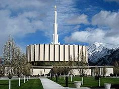 Ogden Utah Temple - the way it used to look, it's being renovated to look different