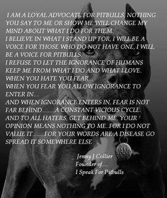 Pitbulls. This woman is a hero :)