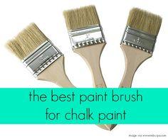 The Best Paint Brush for Chalk Paint