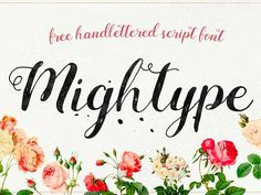 Buy Mightype FontPack Handlettering by adamfathony on GraphicRiver. DETAILS Mightype FontPack Handlettering OFF) Mightype is a Brand New Hand Lettering bundle package with an natur. Cool Handwriting Fonts, Hand Lettering Fonts, Cursive Fonts, Handwritten Fonts, Calligraphy Fonts, Best Free Script Fonts, 100 Free Fonts, Font Free, Fontes Script