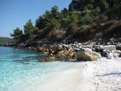 Thassos Marble Beach, Greece