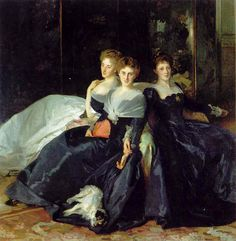 The Misses Hunter - 1902, John Singer Sargent.