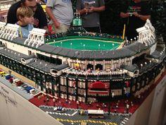 Lego replica of Wrigley Field @ Louisville Slugger Museum & Factory