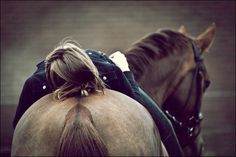 there is nothing like the comfort of being around horses
