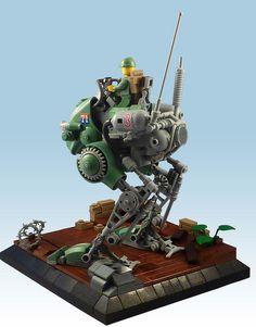 R-6 Froghopper | Flickr - Photo Sharing! Lego Ww2, Lego Robot, Robots, Cool Lego, Awesome Lego, R 6, Lego Spaceship, Lego Mechs, Lego Military