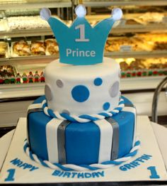 Super Cute First Birthday Cakes, Boys and Girls Prince Birthday, 1st Birthday Cakes, Baby Boy 1st Birthday, Birthday Ideas, Toy Story Cakes, Crazy Cakes, Cakes For Boys, Shower Cakes, Cake Designs