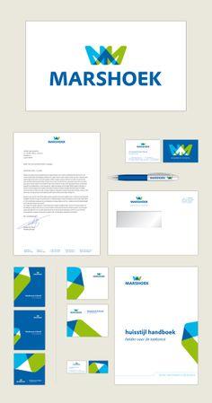 nieuwe corporate identity voor Marshoek, 2010