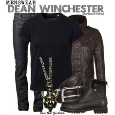 """Dean Winchester (Supernatural)"" by kerogenki on Polyvore"