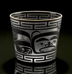 Bear Basket by Preston Singletary, Tlingit artist (X81202)