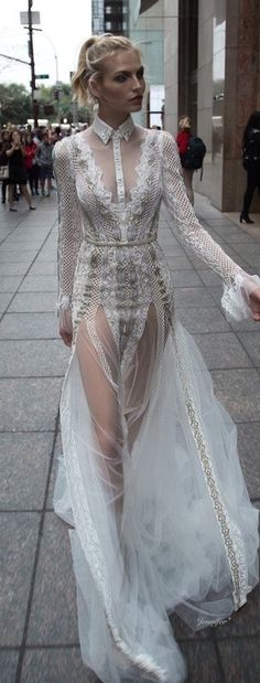 Inbal Dror 2016~ This is banging!!! Not for a bride but amazing ♡♡♡