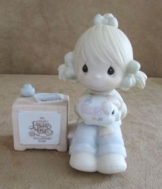 Join in on the blessings Precious Moments figurine Collectors Club e0404 vintage