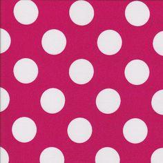 Dots - Pink - Stenzo Poplin