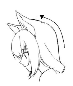 けものキャラクターが生き生きと! ケモノ耳を上手に描く4つのコツ|イラストの描き方  丸みをもたせる    4 Techniques to Draw Kemono Ears | Illustration Tutorial  Think about curves