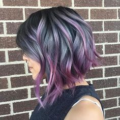 Résultats de recherche d'images pour «couleurs cheveux courts 2017»