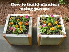 How to build planter