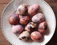 Quail Eggs  Pastel Pink Mix  10 Beautiful Dyed by smilemercantile, $13.50