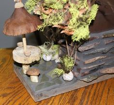 fairy house with antlers | Fairy House