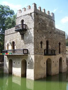 We are the CASTLE BUILDERS... The first castles were built in Af-rui-ka, in Kush. Then we went BACK to EUROPA and civilized the people there with science, medicine, knowledge of the cosmos, nature and much MOOR.....!