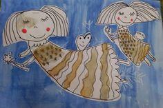 Tvoříme s dětmi  ☺: Ještě z předvánočního tvoření 3. třída Art Projects, Projects To Try, Holy Cross, School Hacks, Craft Activities, Christmas Crafts, Winter, Fictional Characters, Xmas Cards