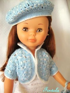 El armario de nancy: Un conjunto muy especial Nancy Doll, Doll Costume, Knitted Dolls, 18 Inch Doll, Little Miss, Couture, American Girl, Doll Clothes, Barbie