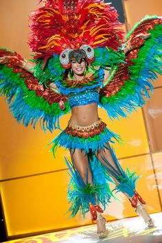 Nick Verreos: Pageant Minute: Miss Universe 2011 National Costumes--Latin America!!!