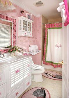 #pink #bathroom