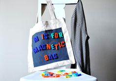 Avec ce tote bag magnétique, vous allez attirer tous les regards !