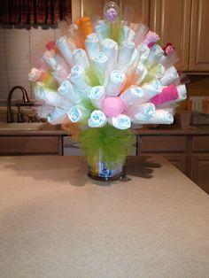Diaper Bouquet!