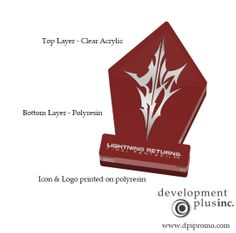 Paper Weights, Final Fantasy, Clear Acrylic, Product Launch, Concept, Prints, Printed, Art Print