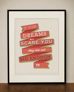 Dreams 11x14 Art Print. $23.00, via Etsy.