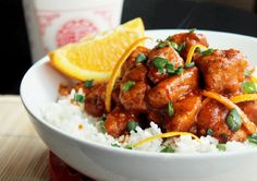 P.F. Changs Orange Peeled Chicken Copycat