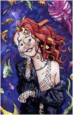 Have you ever spent days and days making up flavors of ice cream that no one's ever eaten before? Like chicken and telephone ice cream?...Green mouse ice cream was the worst. I didn't like that at all.~Delirium