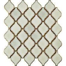 EliteTile Arabesque 1.87'' x 2.75'' Porcelain Mosaic Tile in Selene