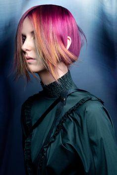 www.esteticamagazine.co.uk Hair: Team Twins, Netherlands Styling: Annet Veerbeek Make-up: Darien Touma Photos: Petra Holland