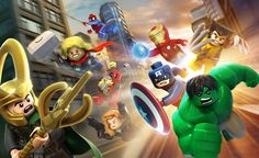 I'd like to start by saying that Marvel super heroes are awesome, but LEGO Marvel super heroes are a whole different kind of awesome. These incredible digital illustrations below have been created by 3D/Digital artist Albert Co.