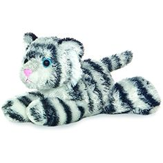 """Aurora Plush Shazam White Tiger Mini Flopsie 8"""" by Aurora ** You can find out more details at the link of the image. (This is an affiliate link) #Puppets"""
